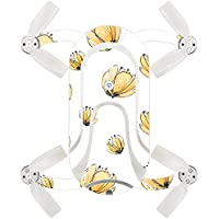 Skin For ZEROTECH Dobby Pocket Drone – Yellow Poppy | MightySkins Protective, Durable, and Unique Vinyl Decal wrap cover | Easy To Apply, Remove, and Change Styles | Made in the USA