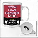 Crystal Palace football club supporters rival team joke funny new and easy office Tea and Coffee Mug gift
