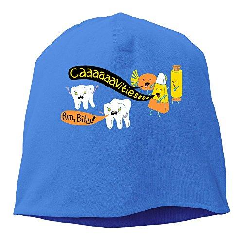 SADCPO Halloween Dentist Jokes Unisex Cool Beanie Watch CapFashion Ski Cap Warm Slouchy Beanie (Dentist Halloween Jokes)