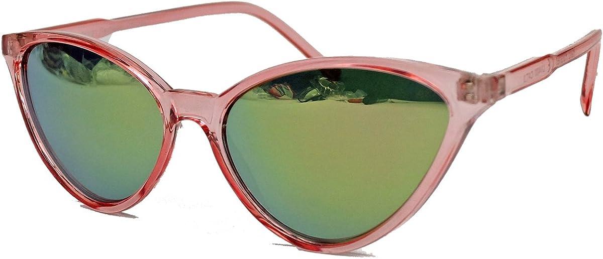 kleinere filigrane Damen Brille im 50er 60er Jahre Cat Eye Stil Sonnenbrille oder Nerdbrille C78