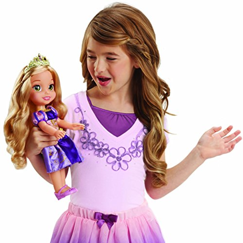 Disney Princess Rapunzel Doll Sing & Shimmer, Sing with Rapunzel!