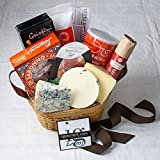 Italy Gift Basket, Collection of the Finest Italian Cheeses, Meats and Sweets