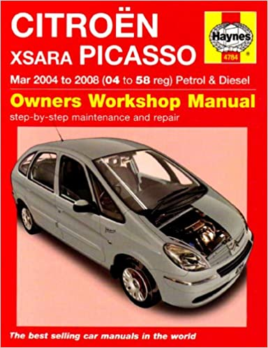 Citroen Xsara Picasso Petrol and Diesel Service and Repair