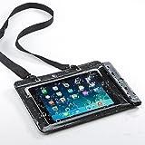 サンワダイレクト iPad タブレットPC 防水ケース お風呂 対応 iPad Pro 9.7 /iPad Air 2/iPad Air 10.1インチ汎用 スタンド機能 ストラップ付 200-PDA127