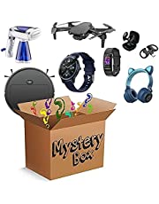 Mystery Item - Nice Gifts Lucky Box Include Drones, Smart Watches, Sweeping Robot Anything Possible - All Items are New Electronics (Random)