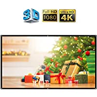 100 Inch portable Projector Screen 16:9 Easy to Clean Projection Screens Suitable for KTV, meeting rooms and outdoor leisure, open-air movies by IGREAT