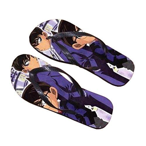 Bromeo Detective Conan Anime Unisex Flip Flops Chanclas 647