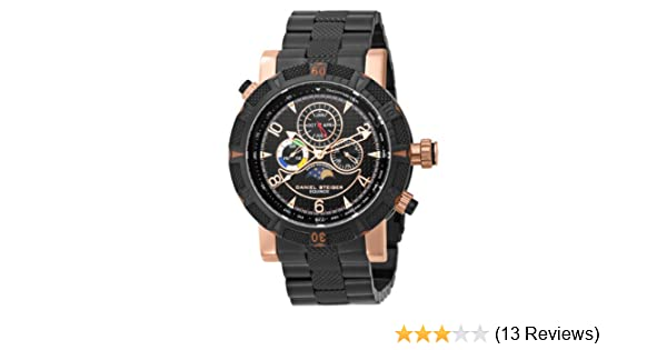 Amazon.com: Daniel Steiger Mens 7058-M Swiss Quartz Multi-Function Rose Gold Watch: Watches