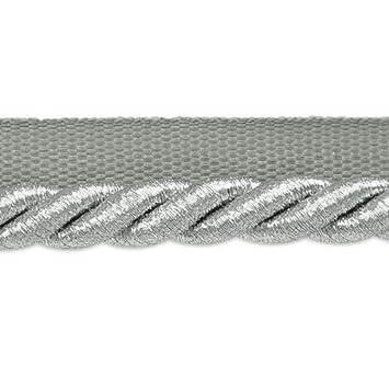 Expo International 3/8-Inch Nicholas Twisted Lip Cord Trim Embellishment, 20-Yard, Metallic Red IR6705MRD-20