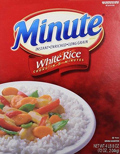 Kraft Minute White Rice - 72 oz. box (2 Pack) by Kraft