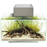 Fluval Edge 6-Gallon Aquarium with 21-LED Light , Silver