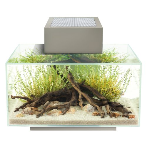 Fluval Edge 6-Gallon Aquarium with 21-LED Light , Silver