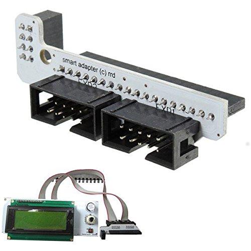 RAMPAS impresora 3d 1.4 LCD 2004/12864 controlador Smart Adapter ...