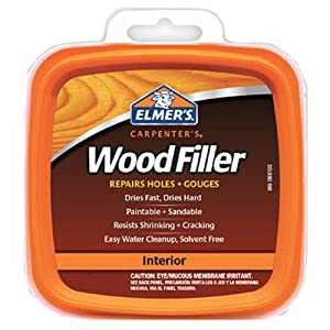 Elmer's Products E847 Carpenter's Interior Wood Filler, 1/4-Pint by Elmer's Products Inc