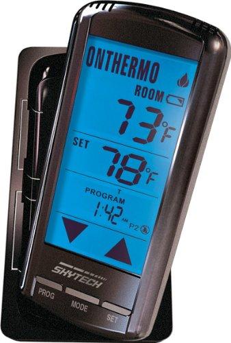 Skytech 5301P Fireplace Remote Touch Screen Programmable Thermostat by SkyTech