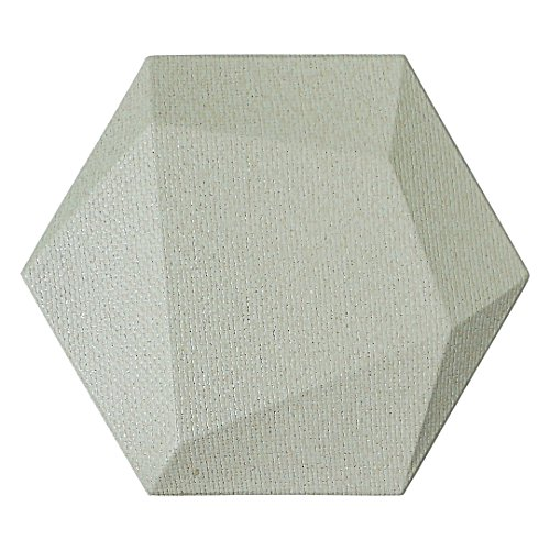Art3dwallpanels Faux Leather Tiles 3D Wall Panels Hexagonal Mosaic Wall Tiles (20 Pack) (Panels Mosaic Tile)