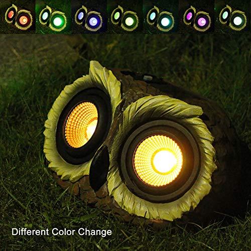 Light Up Garden Owl in US - 5