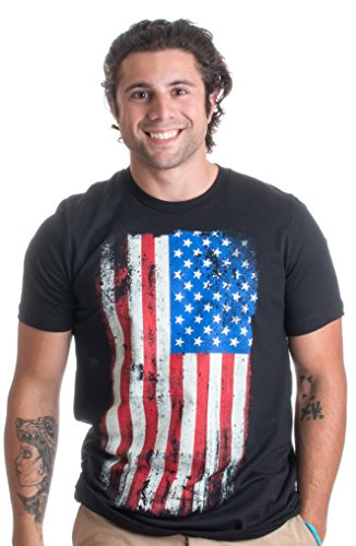 USA Distressed Flag | American Pride, Patriot Made in USA America Unisex T-shirt