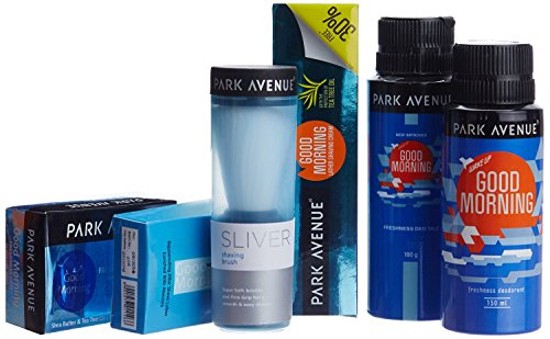 Park Avenue Good Morning Grooming Kit - Special offer + Travel Pouch Free BY PIHUZ - The Stores Avenues