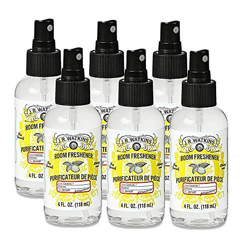 J.R. Watkins Room Freshener, 4 fl oz, Lemon (6 pack) ()