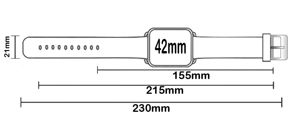 Strap Compatible for Apple Watch Series 4/3/2/1 44mm/42mm - ENDIY Designer Leather Fashionable Band Replacement for Iwatch Impression Line and Floor Pattern by ENDIY (Image #6)