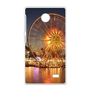 The Ferris Wheel White Phone Case for Nokia Lumia X