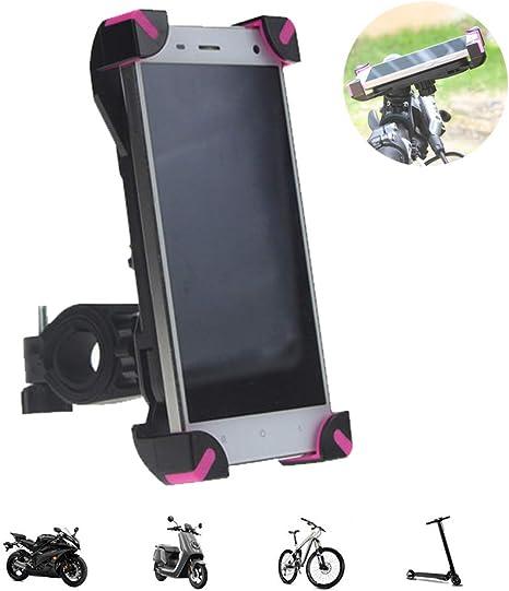 Soporte Movil Bicicleta,Universal Soporte Movil Bici Moto Rotación ...