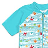 i play. by green sprouts Baby Boys Sunsuit, Light