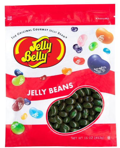 Jelly Belly Watermelon Jelly Beans - 1 Pound (16 Ounces) Resealable Bag - Genuine, Official, Straight from the Source ()