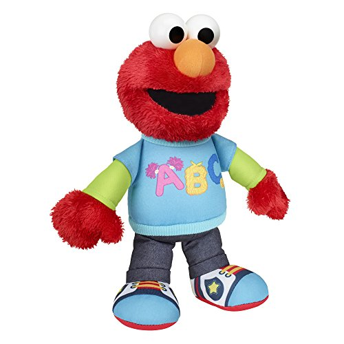Talking Elmo Toy : Sesame street talking abc elmo figure import it all