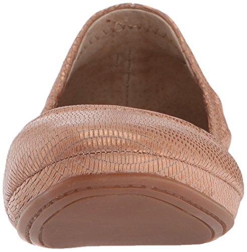 Lucky Brand Emmie Stoff Ballett Wohnungen Laguna Copper
