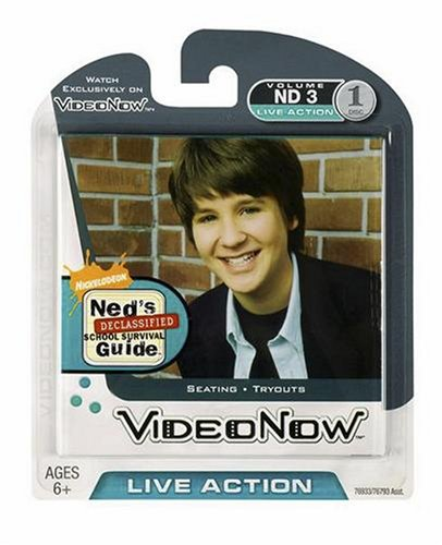 VIDEONOW PVD: Ned's Declassified School Survival Guide (Seating/Tryouts) Hasbro 76933