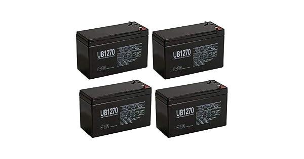 Amazon.com: Universal Power Group - Batería de 12 V 7 AH 7,5 ...