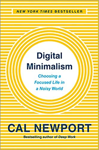 Amazon Fr Digital Minimalism Choosing A Focused Life In A