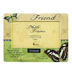 Friend Butterfly Photo Frame