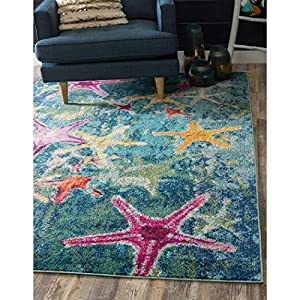 51vm%2B5LdTgL._SS300_ Starfish Area Rugs For Sale