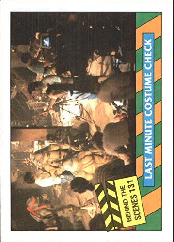 1990 Teenage Mutant Ninja Turtles Movie #131 Last Minute Costume Check - NM-MT - Last Minute Ninja Turtle Costume