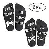 Do Not Disturb I'm Playing Fortnite Half Cushion Low Cut Sport Ankle Socks