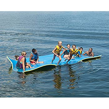 Amazon.com: Jumbo Floating Pad, Giant Aqua Mat 18'x6' Feet ...