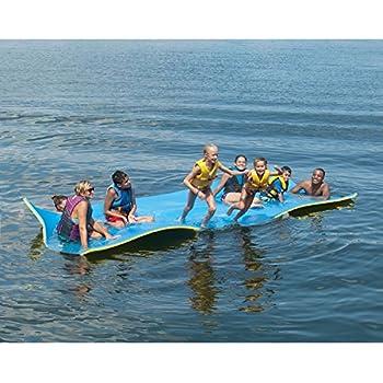 Amazon.com: Jumbo Floating Pad, Giant Aqua Mat 18'x6' Feet ...