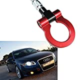 audi a4 front tow hook - 1 Set Red Track Racing Anodized Alloy Tow Hook For Audi A4 A5 S4 S5 RS5 A7 S7 RS7 B8