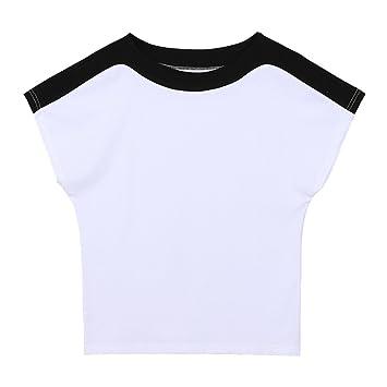 MOMO412654 Camiseta de Manga Corta Camiseta Simple de Verano para ...