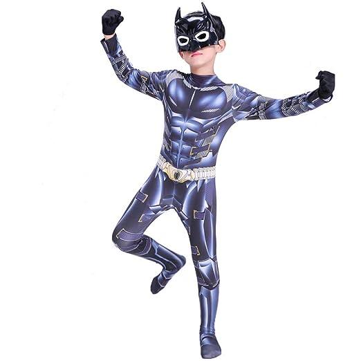 DSFGHE Niños Apretados Traje De Cosplay De Batman para ...