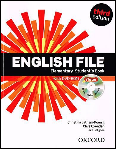 English File Elementary Student´s Book + iTutor DVD-ROM: Third Edition (2012)