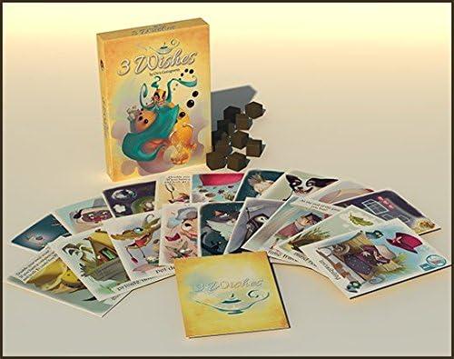 Passport Game Studios NSK0294 - Juego de cartas de 3 deseos, multicolor , color/modelo surtido: Amazon.es: Juguetes y juegos