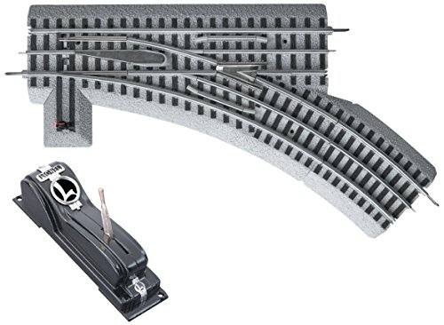 Lionel FasTrack Electric O Gauge, O36 Remote/Command Switch, Left Hand