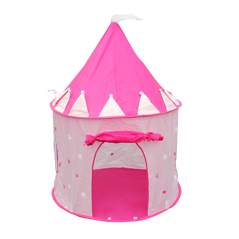 Amazon.com TTnight Portable Pink Pop Up Play Tent Kids Girl Princess Castle Outdoor House (Balls not Included) Toys u0026 Games  sc 1 st  Amazon.com & Amazon.com: TTnight Portable Pink Pop Up Play Tent Kids Girl ...