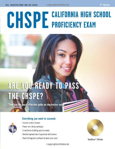 California High School Proficiency Exam (CHSPE) w/CD (California (CHSPE) Test Preparation)