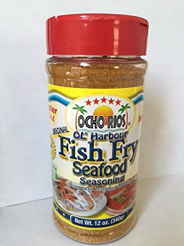 Original Ol' Harbour Fish Fry Seafood Seasonings 12 oz by Ocho Rios
