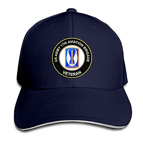 PAWJN Classic US Army 50th Armor Unit Crest Veteran Baseball Caps Adjustable Sandwich Baseball Cap,Baseball Hat,hats,caps